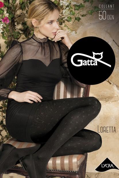 Фантазийные колготки 50 ден с рисунком Gatta LORETTA 115 - фото 1