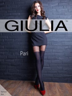 Матовые колготки с имитацией Giulia PARI 30
