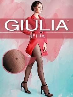 Фантазийные колготки в горошек Giulia AFINA 05