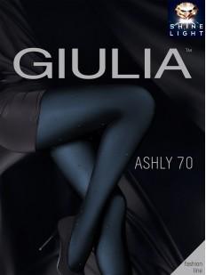 Блестящие цветные колготки Giulia ASHLY 01