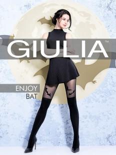 Матовые колготки с имитацией Giulia ENJOY BAT 60 den