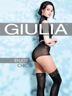 Матовые колготки с имитацией Giulia ENJOY CHIC 60 den