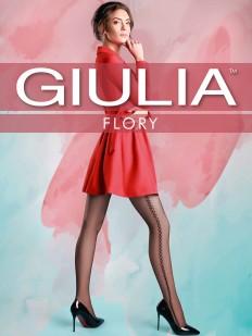 Фантазийные колготки с узором Giulia FLORY 19