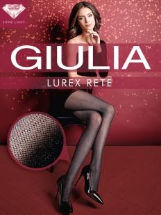 Блестящие колготки в сетку Giulia LUREX RETE 40 den