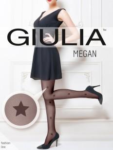Колготки микротюль со звездами Giulia MEGAN 02