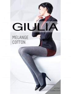 Теплые колготки GIULIA Melange cotton 200