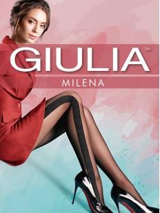 Последний товар!!! Фантазийные колготки с рисунком Giulia MILENA 02