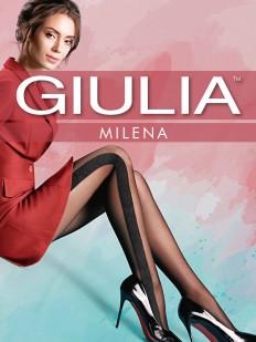Фантазийные колготки с рисунком Giulia MILENA 02
