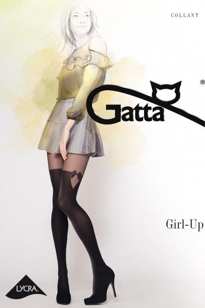 Матовые колготки с имитацией чулок Gatta GIRL UP 29 - фото 1