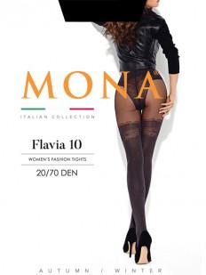 Колготки с имитацией Mona FLAVIA 10