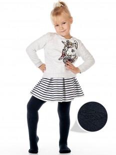 Махровые детские колготки унисекс (2-6 лет) с машинками