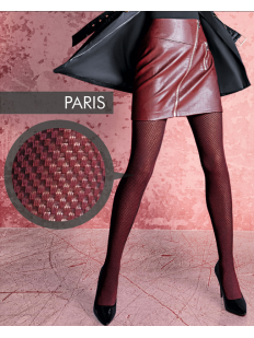 Теплые хлопковые цветные колготки Giulia PARIS 02