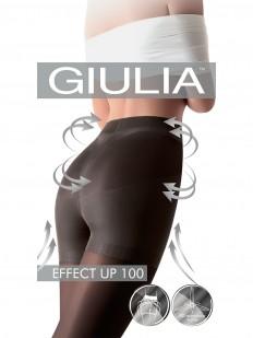 Теплые пуш ап колготки Giulia EFFECT UP 100