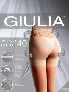 Утягивающие колготки с шортиками Giulia IMPRESSO EFFECT UP 40
