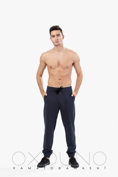 Хлопковые мужские брюки Oxouno 0201 footer 01