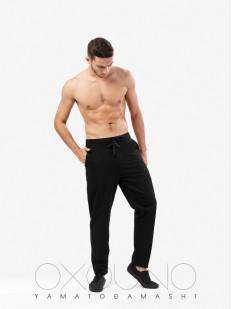 Домашние спортивные мужские хб штаны с карманами