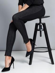 Хлопковые женские легинсы с имитацией джинсы