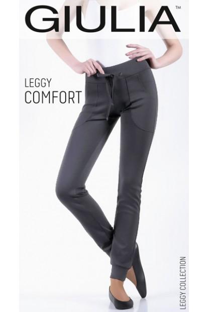 Женские брюки легинсы со шнурками и карманами Giulia LEGGY COMFORT 03 - фото 1