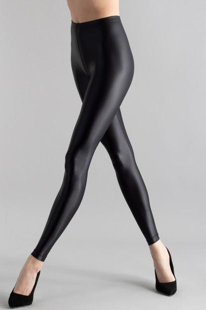 Черные леггинсы с эффектом под кожу Gatta BLACK BRILLIANT - фото 1