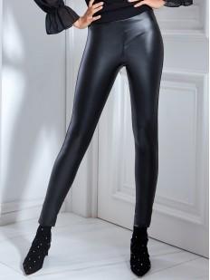 Кожаные леггинсы JADEA 4877 leggings