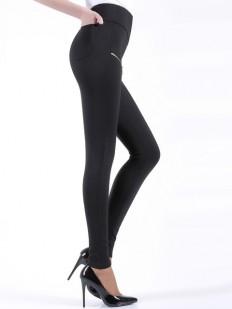 Женские брюки леггинсы с высокой посадкой