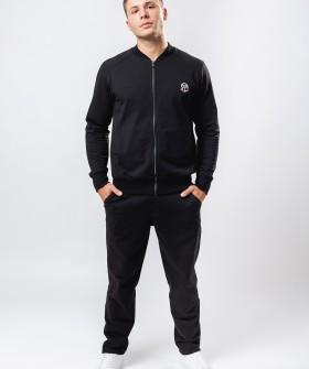 Мужские домашние спортивные брюки черные