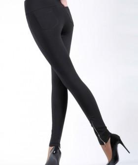 Женские брюки леггинсы с задними карманами