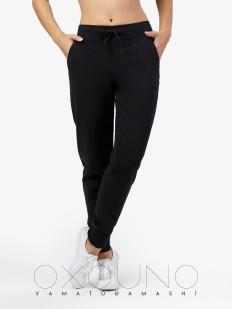 Женские домашние спортивные брюки для дома черные