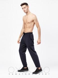 Спортивные домашние мужские штаны из хлопка