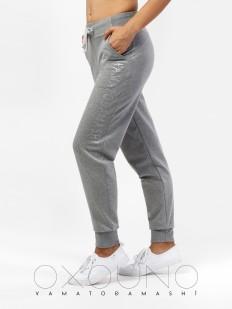 Женские домашние спортивные брюки для дома серые