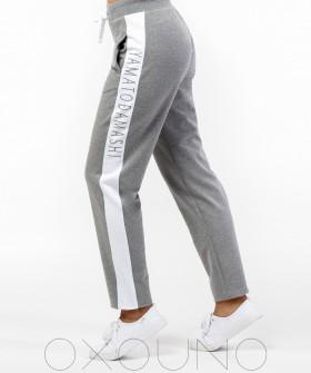 Хлопковые женские спортивные брюки для дома
