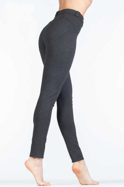 Плотные женские пуш ап легинсы с имитацией карманов Giulia LEGGY LOOK UP 01