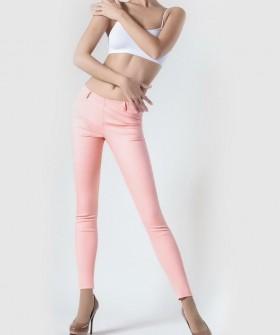 Летние женские цветные брюки леггинсы из хлопка