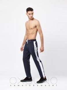 Мужские спортивные домашние брюки хб с карманами
