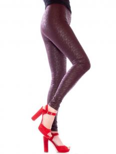 Кожаные леггинсы Giulia LEGGY STRONG 10
