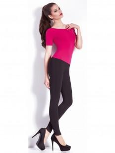Женские брюки леггинсы с имитацией карманов