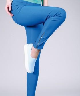 Летние цветные леггинсы брюки из вискозы