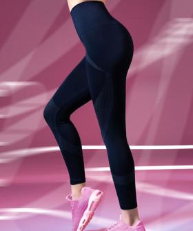 Женские спортивные леггинсы для фитнеса с высокой талией