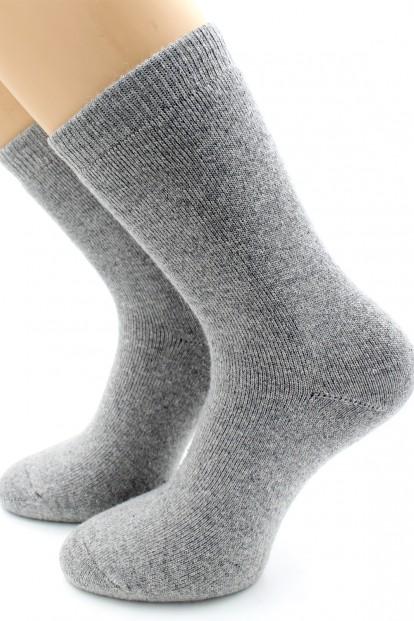 Теплые высокие женские носки с шерстью и кашемиром HOBBY LINE 6571-6