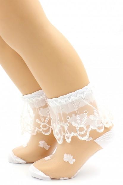 Детские кружевные носки HOBBY LINE 854-2