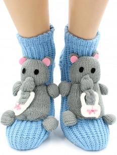 Вязаные носки Hobby Line 072