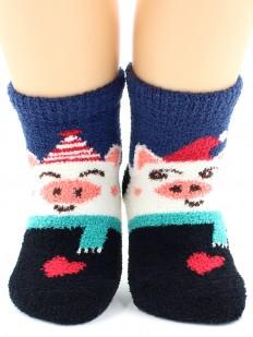 Махровые носки HOBBY LINE 3330-1