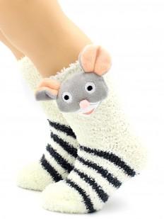 Махровые носки HOBBY LINE 3327-6