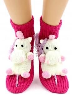 Вязаные носки Hobby Line 063-1