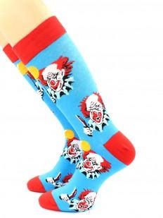 Цветные носки унисекс с танцующим клоуном Пеннивайз