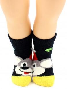 Махровые носки HOBBY LINE 3340-2