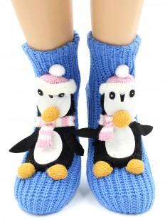 Вязаные носки Hobby Line 073