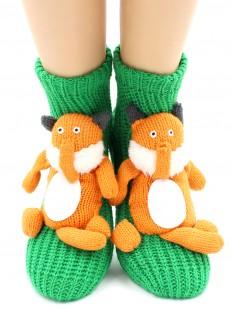 Вязаные носки Hobby Line 083