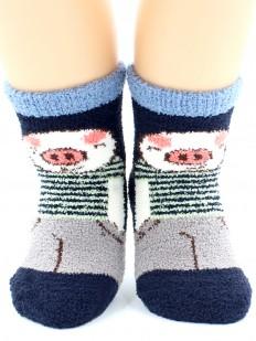 Махровые носки HOBBY LINE 3333-1