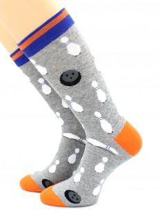 Цветные носки унисекс для любителей боулинга